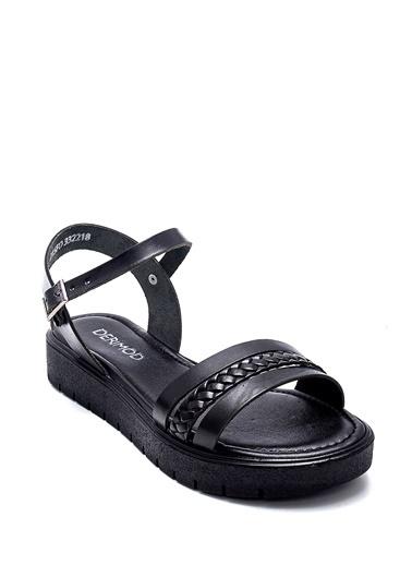 Derimod Kadın Sandalet (320) Casual Siyah